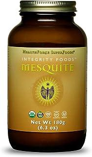HealthForce SuperFoods Integrity Foods Mesquite - 180 Grams - Low Glycemic Natural Sweetener, High in Soluble Fiber - Orga...