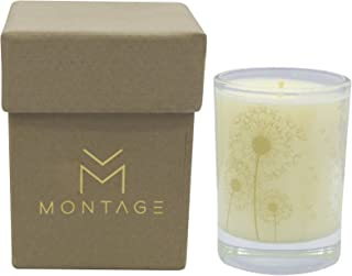 Montage Lifestyle Sweet Orange Patchouli & Frankincense Soy Wax Votive Candle- Zen- Meditation Aromatherapy Candle for De-Stress with 100% Pure Essential Oils- 1.6OZ- 15Hrs-Handmade in Greece