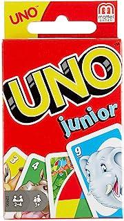 Mattel Games Mattel Games 52456 - UNO Junior Kartenspiel für Kinder, Kinderspiele geeignet für 2 - 4 Spieler ab 3 Jahren