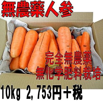 無農薬人参 ジュース用(無選別)10kg