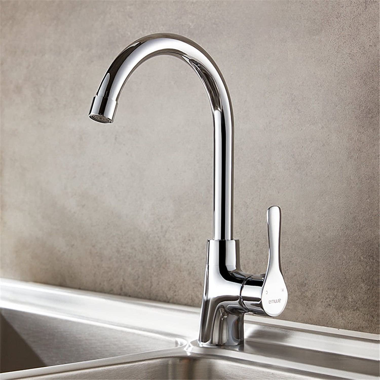 S.Twl.E Sink Mixer Tap Tap Tap Faucet Bathroom Kitchen Basin Tap Leakproof Save Water Copper Plating Hot And Cold Water c1fdf8