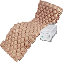 Dr Trust Air Mattress Anti Decubitus Air Pump and Bubble Mattress (Brown)