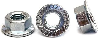 M10-1.5 10mm x 1.5 Thread Steel Flange Spin Wiz Nut Zinc 10.9    25 pcs 25
