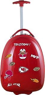 "NFL Kids Lil' Adventurer Luggage Pod, Unisex, NFL Kansas City Chiefs Kids Lil' Adventurer Luggage Pod, Red, NFKCL601_Red, Red, 18"""