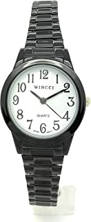 Ladies Classic Round Stretch Elastic Band Fashion Watch Wincci