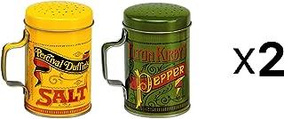 Norpro 713 Salt and Pepper Shakers, 4 Piece Set