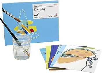 Jeux Adapt/és aux Seniors Atteints de D/émence ou d/'Alzheimer Active Minds Peinture /à l/'eau r/éutilisable Dans le Jardin Aquapaint