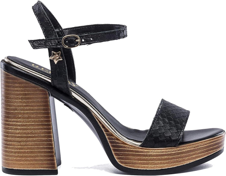 Replay Woherren High Heel Leather Sandals