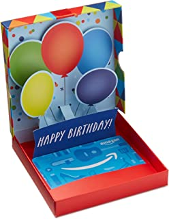 Best Amazon.com Gift Card in a Birthday Pop-Up Box Review