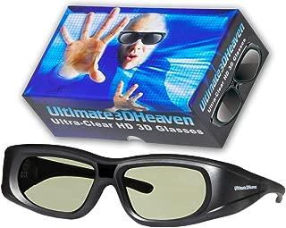 3D Heaven Rechargeable 3-D Glasses