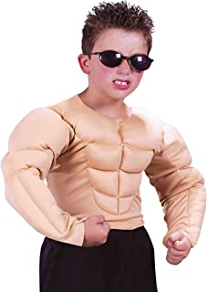 Muscle Shirt Kids Costume - Large
