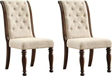 Signature Design by Ashley Porter Dining Room Chair, Rustic Brown