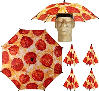 pizza print hat