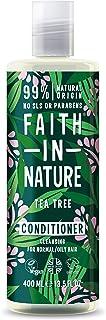 Faith in Nature Acondicionador Natural de Árbol del Té Purificante Vegano y No Testado en Animales sin Parabenos ni SLS...