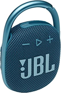 JBL Clip 4 - Portable Mini Bluetooth Speaker, Big Audio and Punchy bass, Integrated Carabiner, IP67 Waterproof and dustpro...