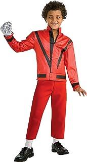Rubbies - Disfraz de Michael Jackson para nino, talla 7-9 a