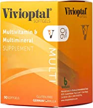 Vivioptal Multi 90 Softgels - Multivitamin & Multimineral Supplement - Lipotropic Substances & Trace Elements