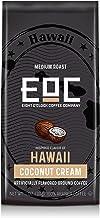 Eight O'Clock Coffee Flavors of America Ground Coffee, Hawaii Coconut Cream, 11 Ounce