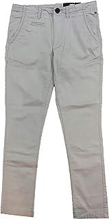 Tommy Hilfiger - Pantalon Largo Chino, niño, Color: Gris Ceniza, Talla:12
