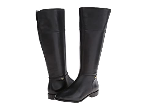 Womens Boots Cole Haan Primrose Riding Boot Extended Calf Black