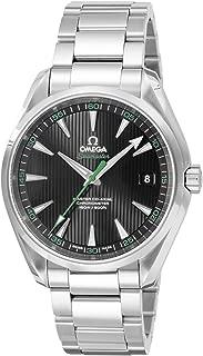 [オメガ] 腕時計 シーマスターアクアテラ ブラック文字盤 コーアクシャル自動巻き バックスケルトン 231.10.42.21.01.004 メンズ 並行輸入品 シルバー