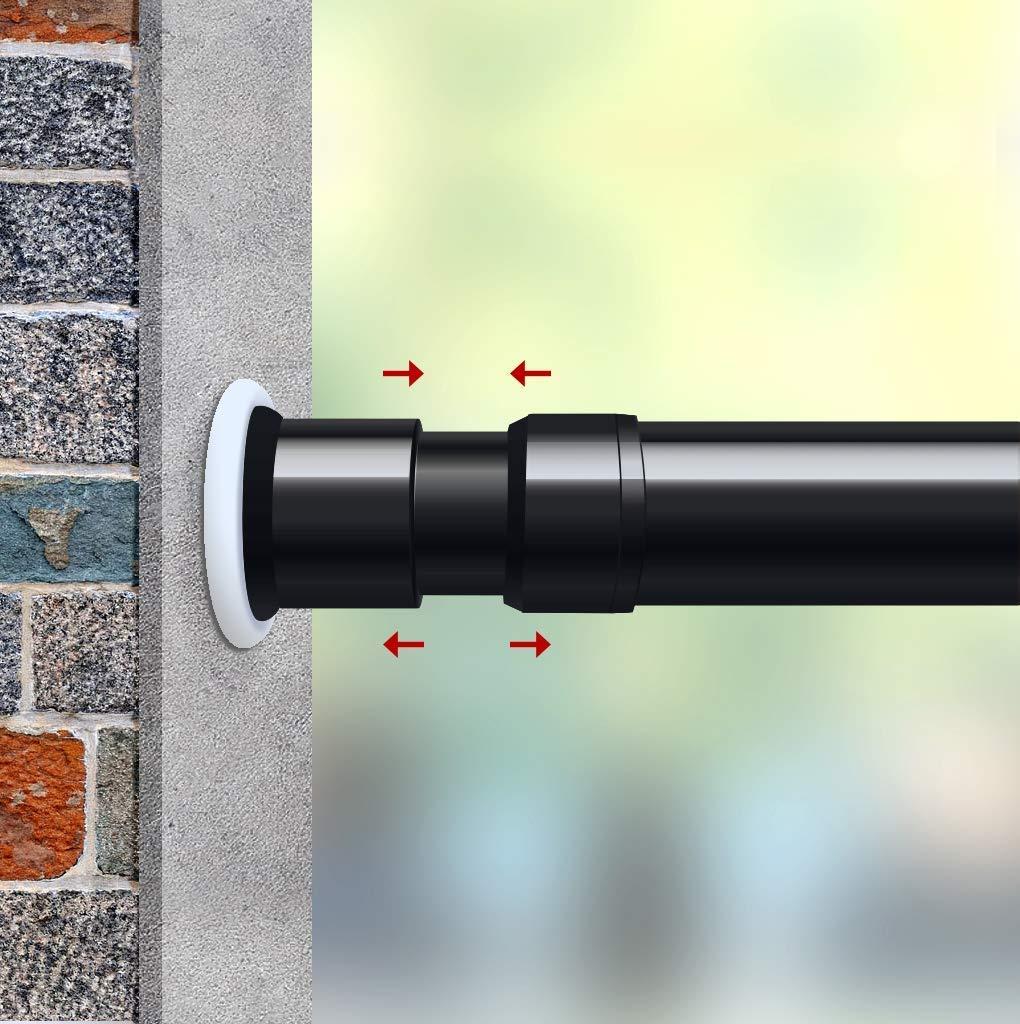 Spirella Shower Curtain HANGING RAIL ROD Multi Extendable Pole Track Bathroom