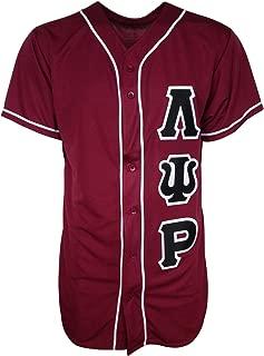 Mega Greek Lambda Psi Rho Baseball Jersey