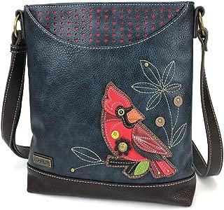 Chala Cardinal Sweet Messenger Bag Purse, Bird lovers gift