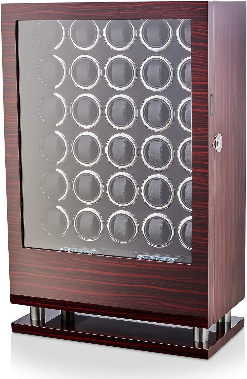 30 Regular store Watch Winder with Fingerprint Direct sale of manufacturer Large and Storage Lock Drawer