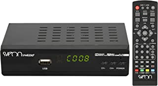 Nrpfell 5dBi Libre-Vision DVB-T TV HDTV Antena amplificadora Digital portatil