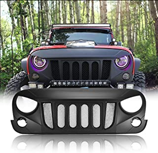 Best angry eyes jeep grill Reviews
