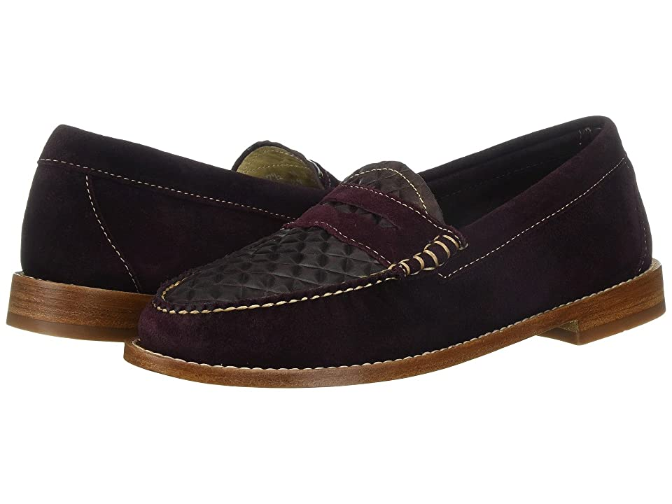 G.H. Bass & Co. Whitney Weejuns (Eggplant Embossed) Women