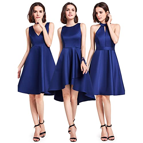 c4fce74ba32 Ever Pretty Womens Sleeveless Short Bridesmaid Cocktail Party Evening  Dresses 05892