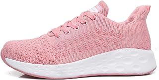 LJFZMD Deportivo Calzado, Fitness Zapatillas Zapatillas para correr para mujer Zapatillas deportivas ligeras antideslizant...