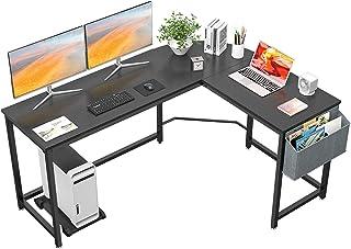 Homfio L Shaped Desk 58'' Computer Corner Desk Gaming...