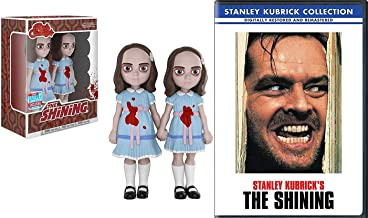Grady Twins from The Shining Stanley Kubrick Horror Feature DVD movie Rock Candy Duo Figure bundle Stephen King Collectible
