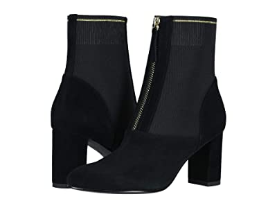 David Tate Monique (Black Suede) Women