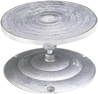 AMACO Turntable Decorating and Sculpture Banding Wheel, 7 in Dia, Aluminum