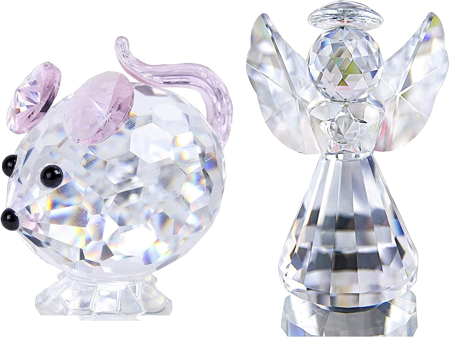 Crystal Figurines Collectibles-Glass Animals Special Finally popular brand sale item Decor Figurine Home