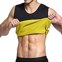 IFLOVE Mannen Hot Sweat Body Shaper buik vetverbrander Tank Top Afslanken Vest Gewichtsverlies Shapewear Neopreen Geen Zip…