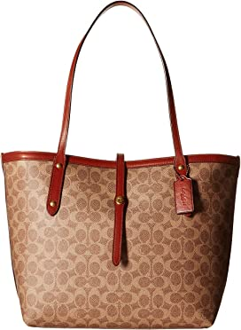 fd45a2fc91742 COACH Charlie Carryall in Signature Canvas | Zappos.com