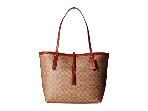 COACH Market Tote in Coated Canvas Signature at Zappos.com ee085f627569e