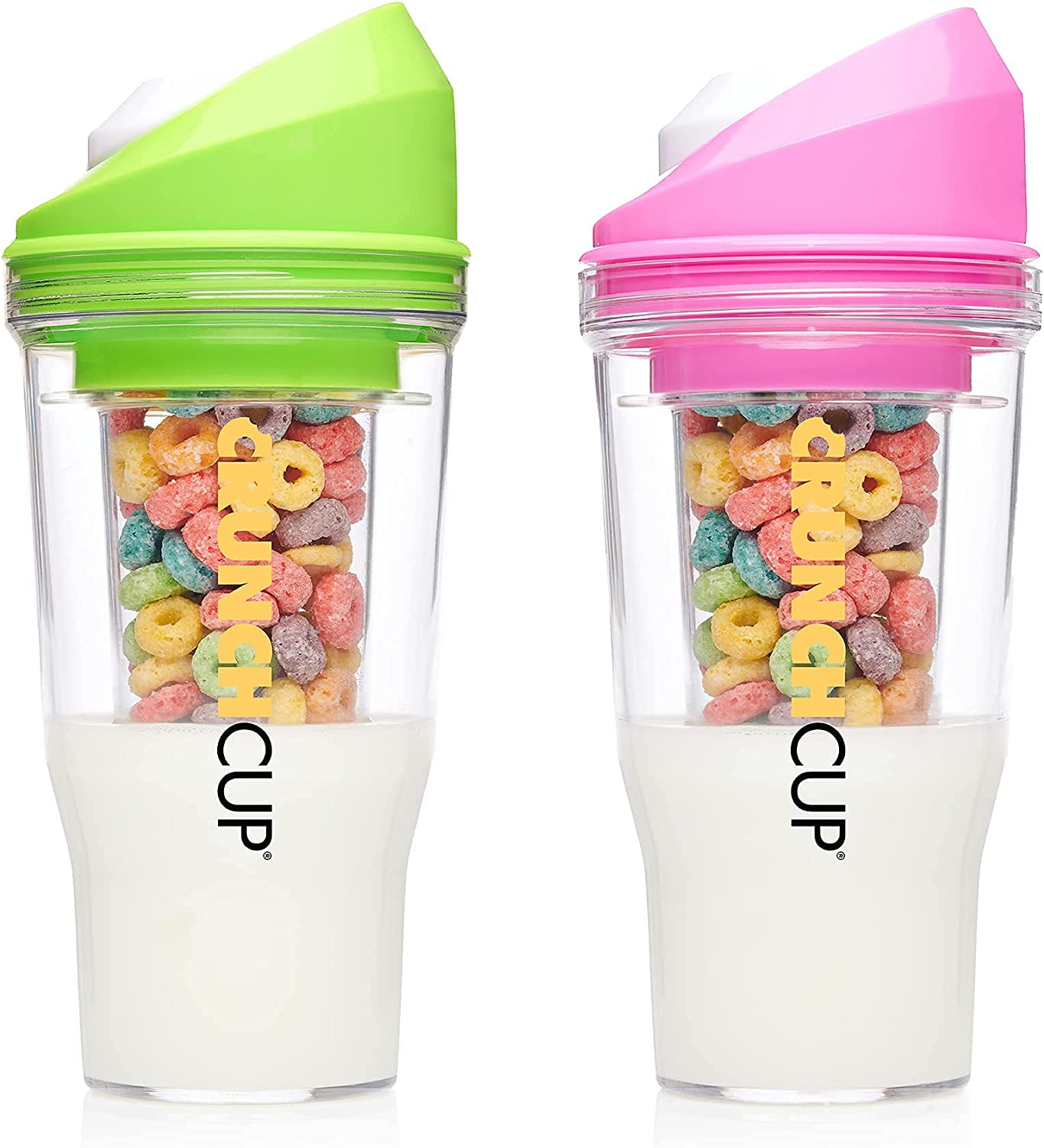 Bundle Save 40% OFF Cheap Sale 15% on Green CrunchCups Pink Manufacturer direct delivery Two