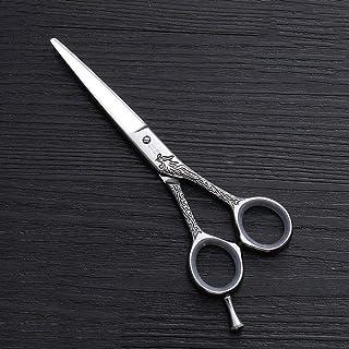 YLLN 440C roestvrijstalen kappersschaar 5,5 inch kappersschaar trimmen pony Falt-schaar voor man vrouw volwassenen kindere...