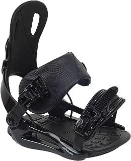 AIRTRACKS Master FASTECTM Fixation de Snowboard Noir Taille M L XL