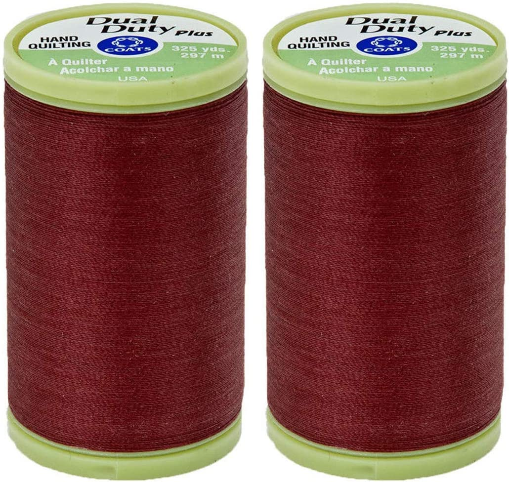 2-Pack Coats Clark Dual Duty Plus Thread Hand Quilting Discount is List price also underway 325yd