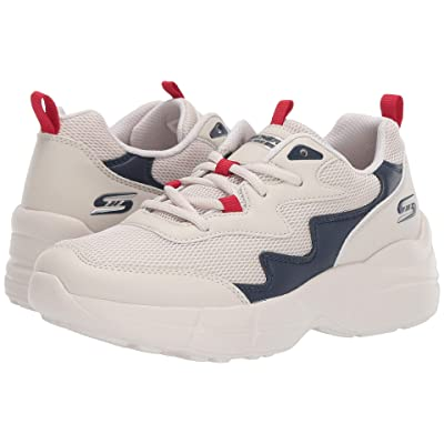 BOBS from SKECHERS Primo Popsicle (Natural/Navy) Women