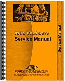New Service Manual Made for Allis Chalmers AC Crawler Model HD9