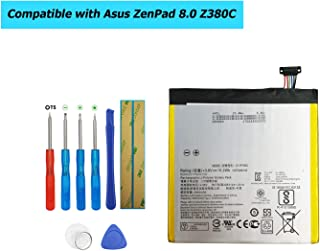 Upplus C11P1505 Replacement Battery Compatible with Asus ZenPad 8.0 Z380C, Z380CX, Z380KL, Z380C, Z380CX, P022, P024 with Toolkit