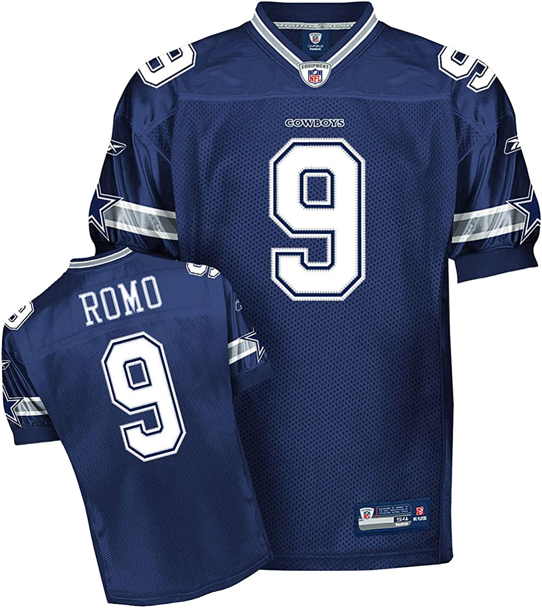 Amazon.com : Reebok Dallas Cowboys Tony ROMO Authentic Jersey Size ...